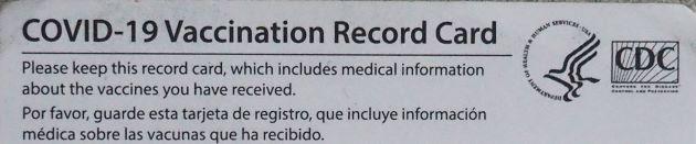 Proof of Vaccine