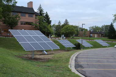 Solar panels in Michigan