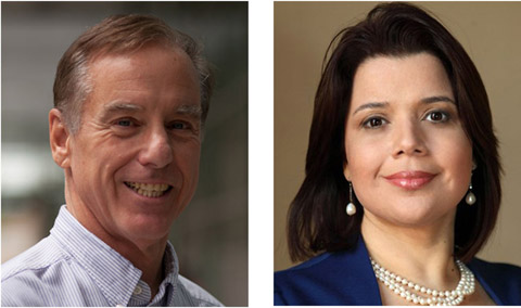 Howard Dean and Ana Navarro