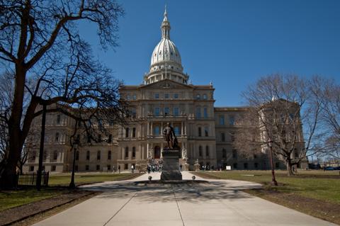 Michigan's beatiful Capitol