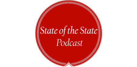 State of the State Podcast badge